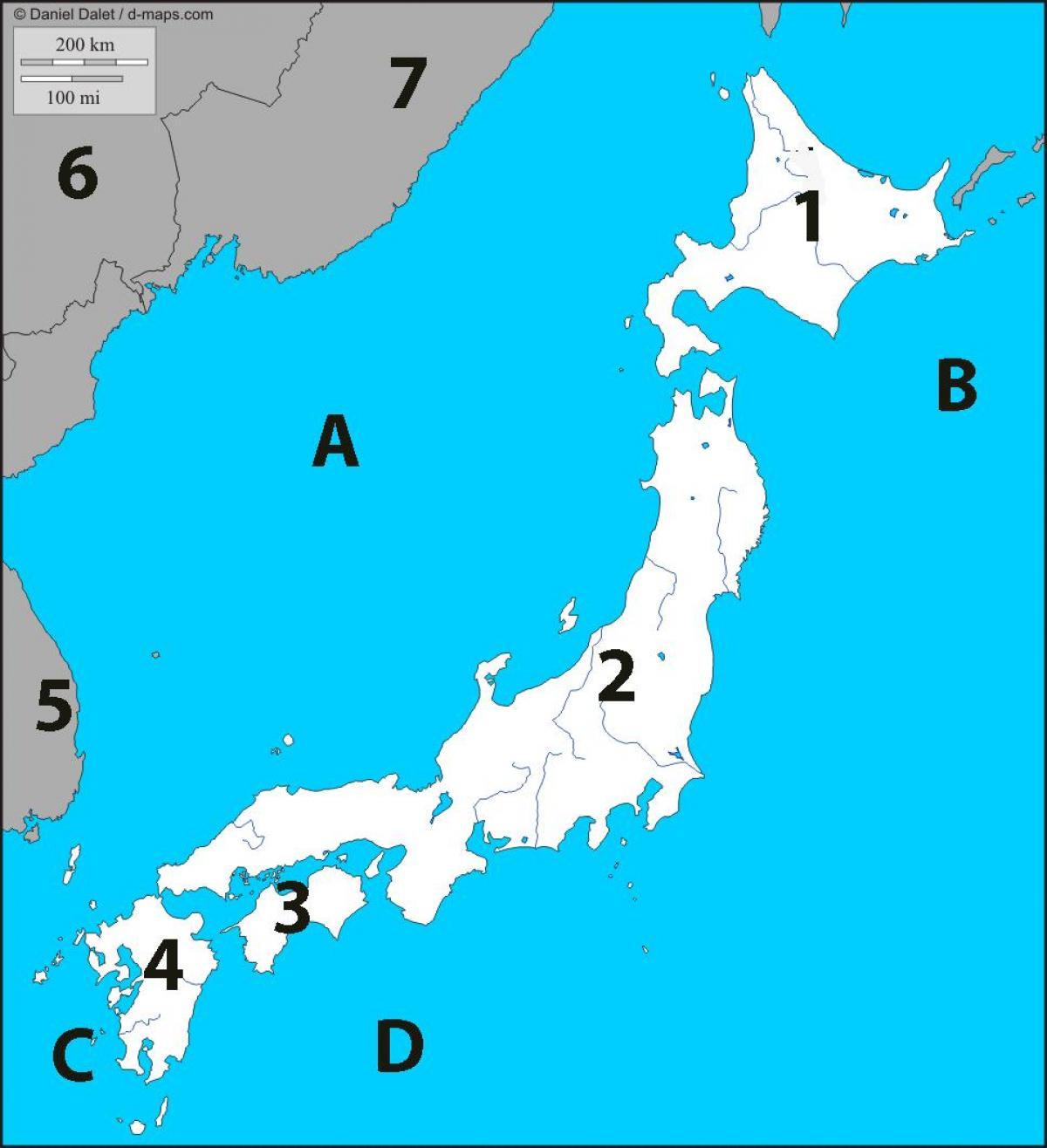 asia kart quiz Japan kart quiz   Kart over japan quiz (Øst Asia   Asia) asia kart quiz